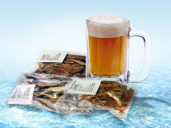 Фото рыбы и закуски к пиву